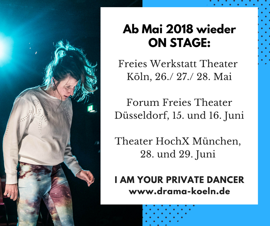 Private Dancer_ab Mai 2018 wieder on stage